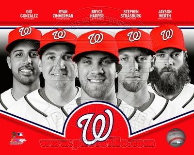MLB Washington Nationals 2013 Team Composite Photo