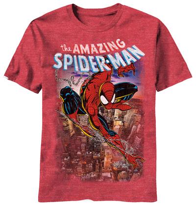 Spiderman - Spiderscene Shirts