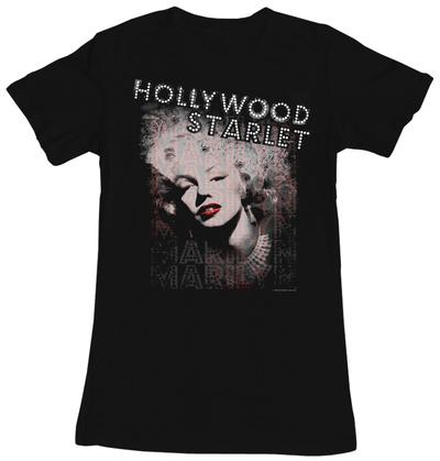 Juniors: Marilyn Monroe - Starlet T-Shirt