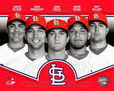 St. Louis Cardinals 2013 Team Composite Photo