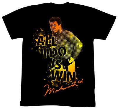 Muhammad Ali - Boom Boom Pow T-Shirt