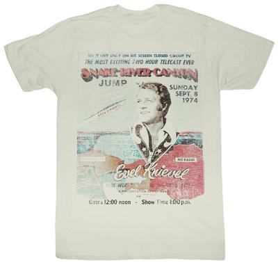 Evel Knievel - Snake River T-Shirt