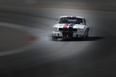 Mustang on the racing Circuit Photo by  NaxArt