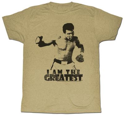 Muhammad Ali - I Am The Greatest Shirts
