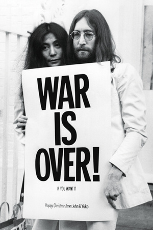 John Lennon - (War is Over) plakat