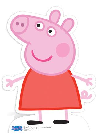 Peppa Pig Figura de cartón