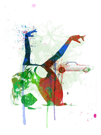 Camaro Ballet Print by  NaxArt