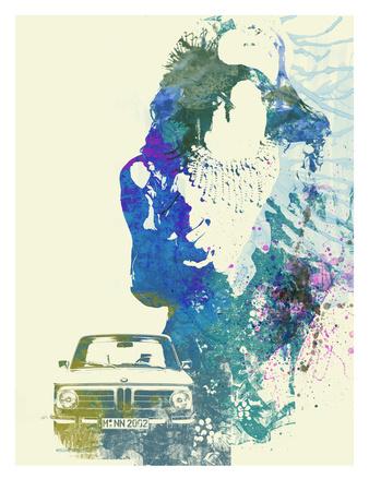 BMW Girl Art by  NaxArt