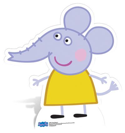 Emily Elephant Figura de cartón