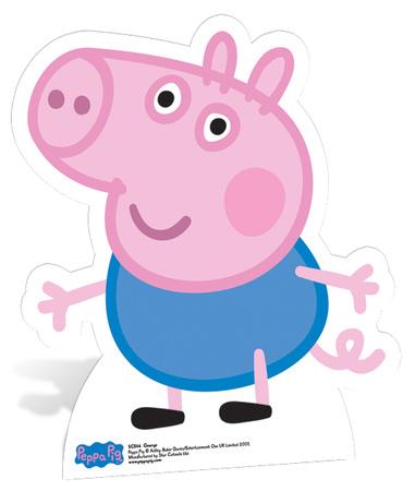 George Pig Figura de cartón