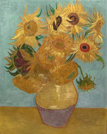 Sunflowers, c.1889 Prints by Vincent van Gogh