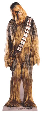 Chewbacca Figura de cartón