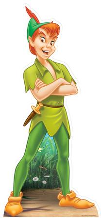 Peter Pan Figura de cartón