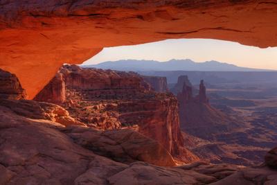 Morning at Mesa Arch, Canyonlands Photographic Print by Vincent James