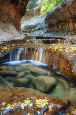 The Unique and Mysterious Subway at Zion Photographic Print by Vincent James