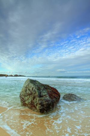 Morning Seascape at Garrapata Beach Photographic Print by Vincent James