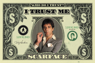 Scarface - Dollar Posters