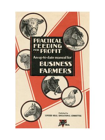 Feeding Manual for Farm Animals Print