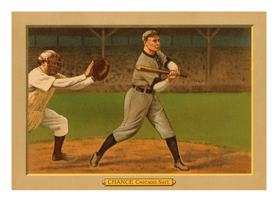 Early Baseball Card, Frank Chance Prints