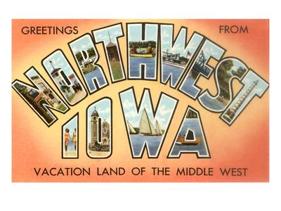 Greetings from Northwest Iowa Art