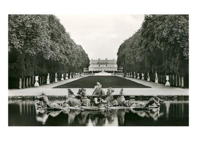 Neptune Fountain, Versailles, France Art