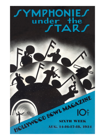 Symphonies under the Stars, Los Angeles, California Posters
