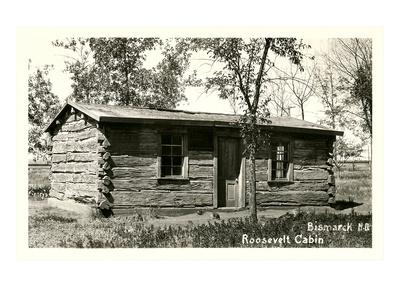 Roosevelt Cabin, Bismarck, North Dakota Prints