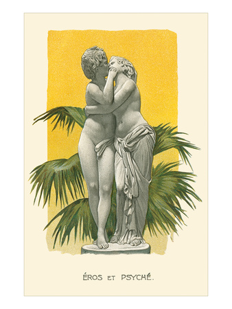 Statue of Eros and Psyche Posters