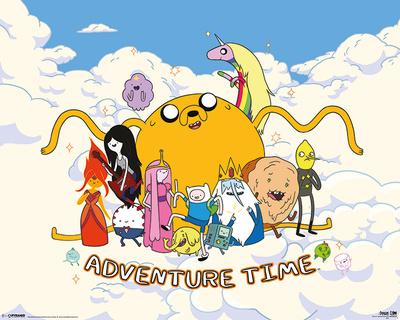 Adventure Time - Cloud Prints