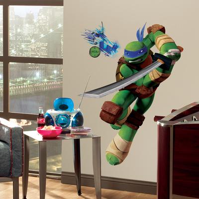 Teenage Mutant Ninja Turtles Leo Peel & Stick Giant Wall Decals Wall Decal