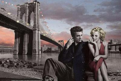 Brooklyn Bridge Poster Prints by Chris Consani