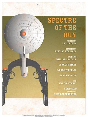 Star Trek Episode 61: Spectre of a Gun TV Poster Print