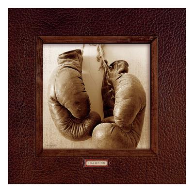 Vintage Boxing Print by Sam Appleman