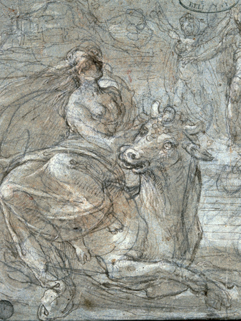 The Abduction of Europa Giclee Print by Prospero Fontana