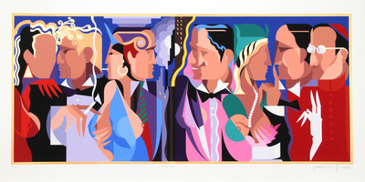 Talking Heads Collectable Print by Giancarlo Impiglia