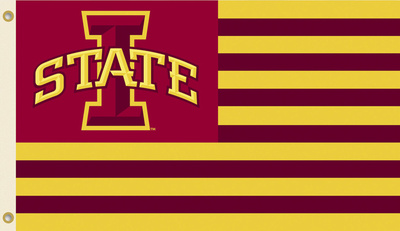 NCAA Iowa State Cyclones Flag with Grommets Flag