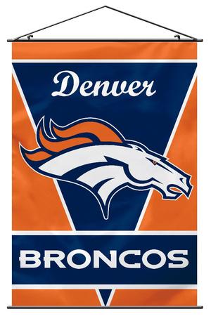 NFL Denver Broncos Wall Banner Bandera