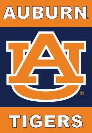 NCAA Auburn Tigers 2-Sided House Banner Bandera