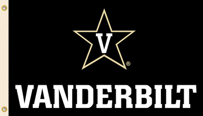 NCAA Vanderbilt Commodores Flag with Grommets Flag
