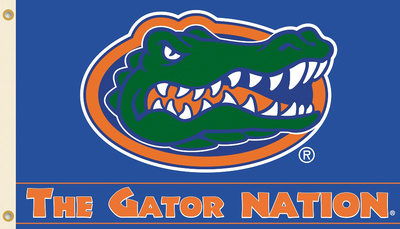 NCAA Florida Gators Flag with Grommets Flag