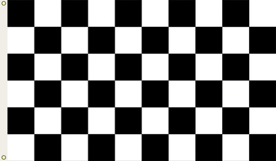 Nascar Checkered Flag with Grommets Flag