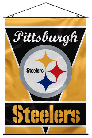 NFL Pittsburgh Steelers Wall Banner Bandera