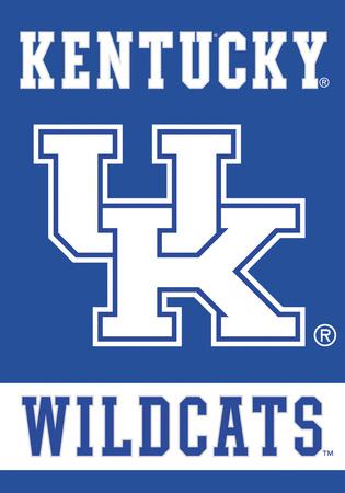 NCAA Kentucky Wildcats 2-Sided House Banner Bandera