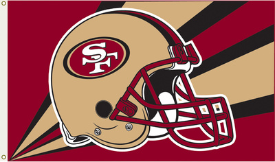 NFL San Francisco 49Ers Flag with Grommets Flag