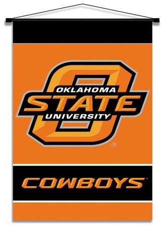 NCAA Oklahoma State Cowboys Indoor Banner Scroll Pergamino