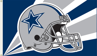 NFL Dallas Cowboys Flag with Grommets Bandera