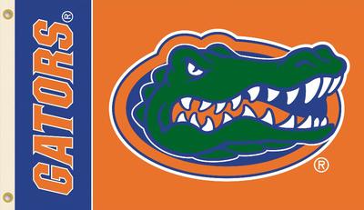 NCAA Florida Gators Flag with Grommets Flag