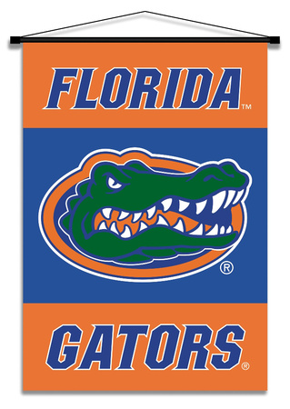 NCAA Florida Gators Indoor Banner Scroll Pergamino