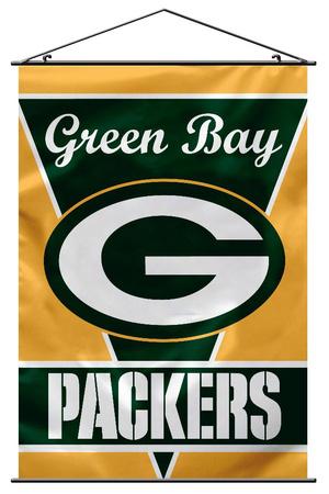 NFL Green Bay Packers Wall Banner Bandera