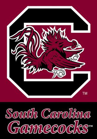 NCAA South Carolina Gamecocks 2-Sided House Banner Flag